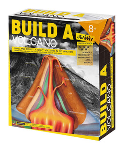 Jeanny build a volcano box set
