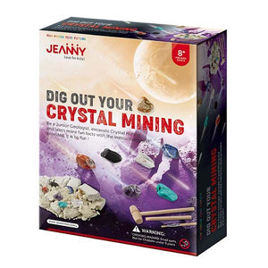 Jeanny dig out your crystal mining box set