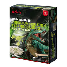 Load image into Gallery viewer, Jeanny dig and discover dinosaur skeleton trex box set