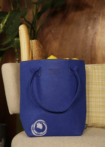 Kōwhai Blue & Yellow Shoulder Tote Bag