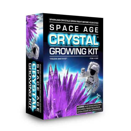 Space age crystal growing kit, frozen amethyst