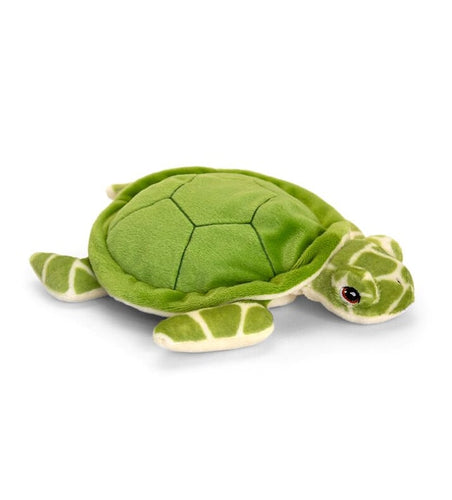 Keel eco soft toy green turtle 25cm