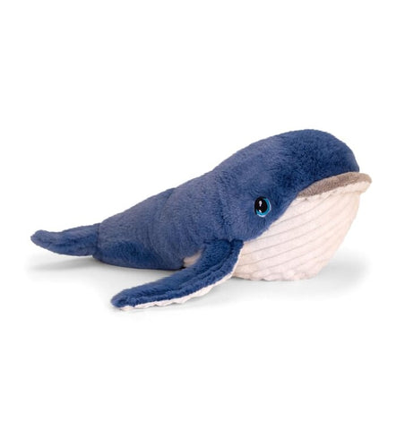 Keel eco soft toy blue whale 25 cm