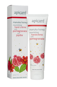 Manuka honey and pomegranate hand cream