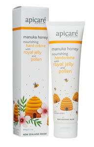 Apicare royal jelly and pollen hand cream