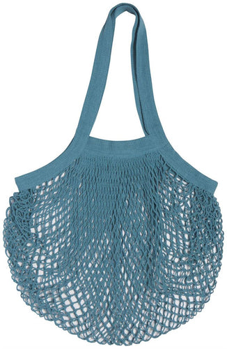 Now designs le marche shopping bag blue