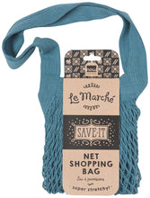 Load image into Gallery viewer, Le Marché Shopping Bag – Blue