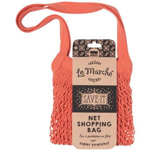 Le Marché Shopping Bag – Coral