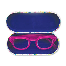 Load image into Gallery viewer, Rachel Ellen looking fabulous glasses case interior