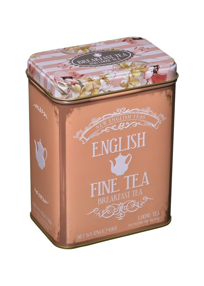 Tea Looseleaf English Fine Tin 125g Eb