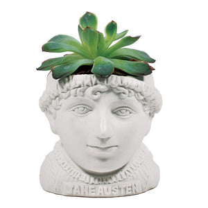 Jane Austen Fertile Mind Planter