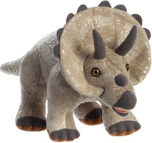 Triceratops soft toy