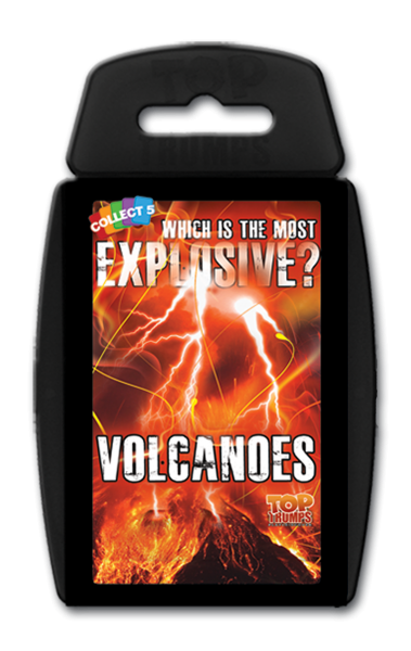 Top trumps volcanoes card game