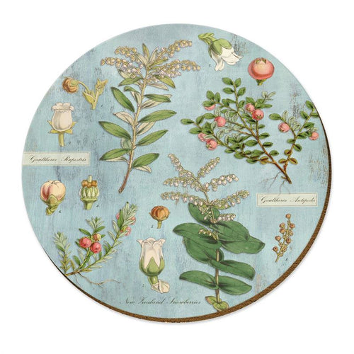 Wolfkamp & Stone snowberries placemat