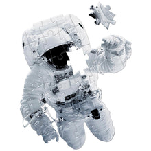 Load image into Gallery viewer, Astronaut shaped floor puzzle