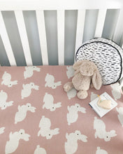 Load image into Gallery viewer, Bunny baby blanket