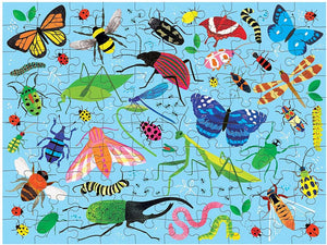 Bugs and Birds Double Sided Puzzle 100 piece