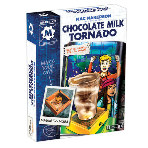 Mac Makerson and the Chocolate Milk Tornado box set
