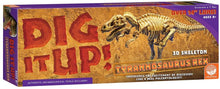 Load image into Gallery viewer, Dig it up dinosaur t. rex model box set