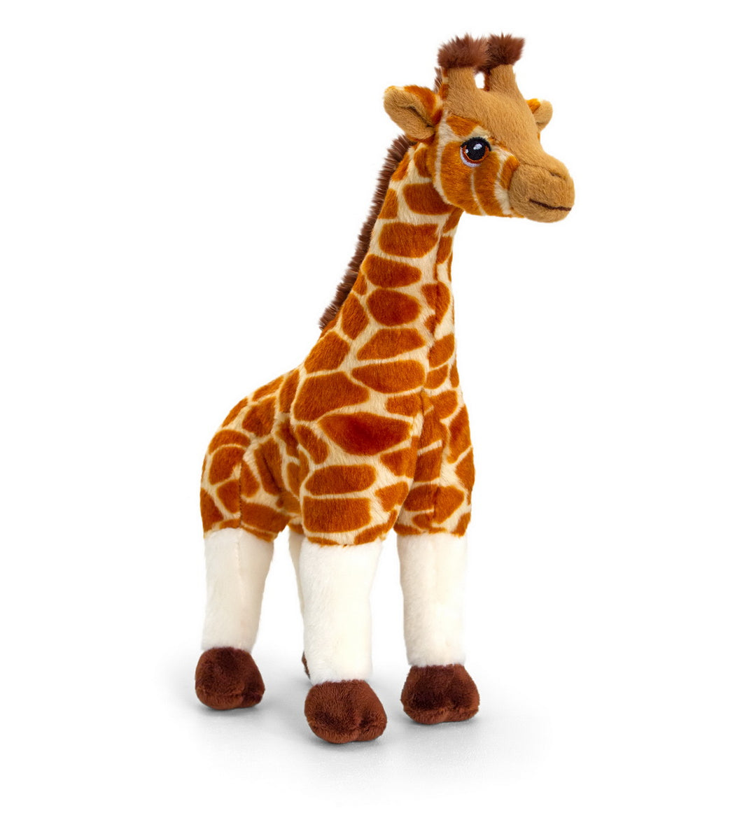 Keel eco soft toy giraffe 30 cm