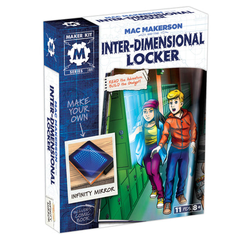 Mac Makerson and the inter-dimensional Locker box set