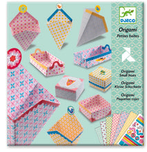 Load image into Gallery viewer, Djeco origami small boxes set