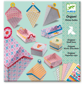 Djeco origami small boxes set
