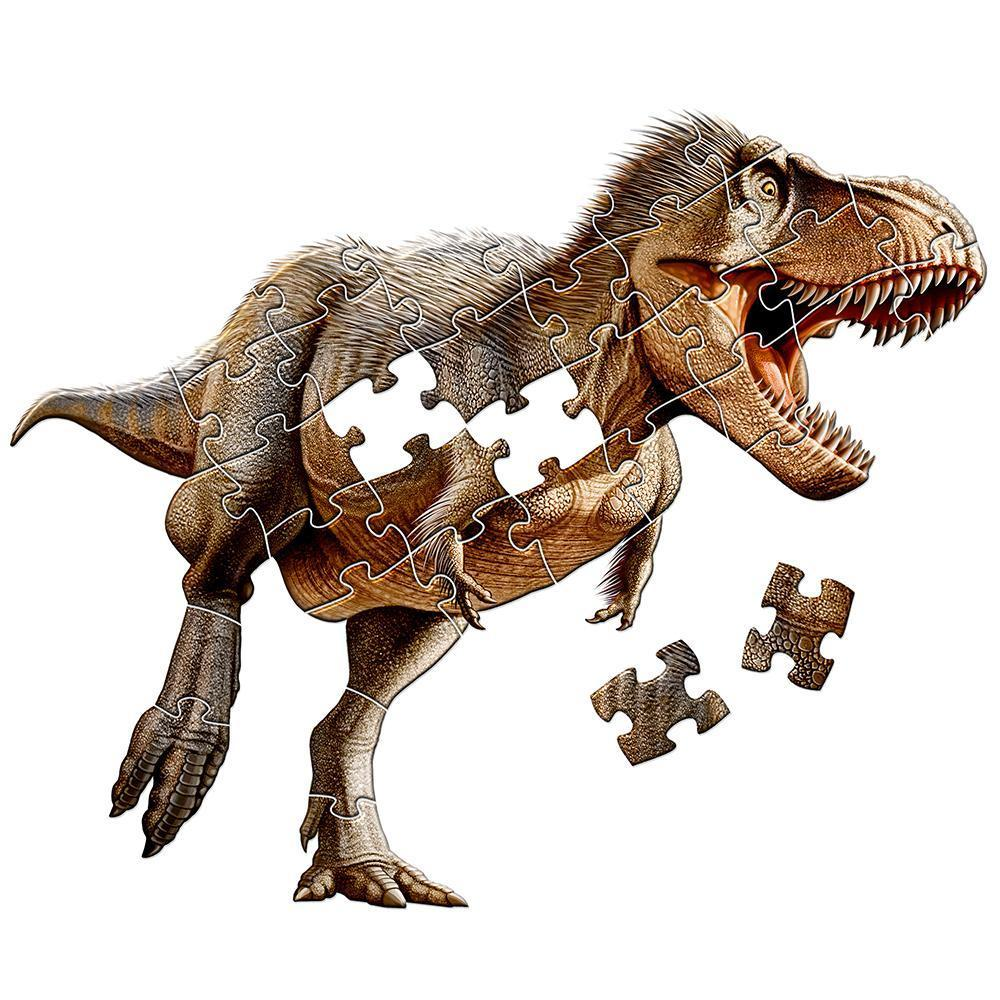 T. rex shaped floor puzzle