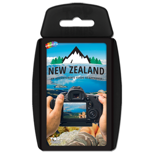 Top trumps New Zealand card game