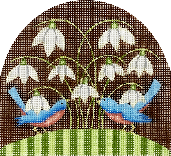 Bluebirds and Snowdrops