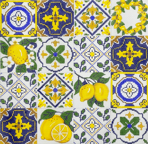 Lemon Tile Collage