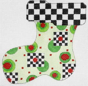 Olives & Chess Stocking Ornament
