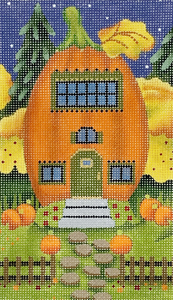 RicRac Pumpkin House