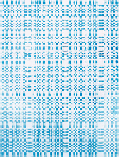 John Richey, Grids as a Visual System on Paper and Fabric