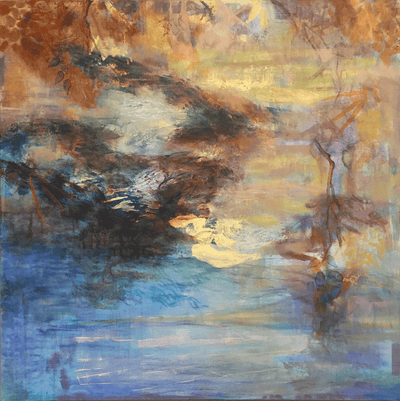 """Pond Edge""...Mystery and the Impressionistic World of Dona Mara"