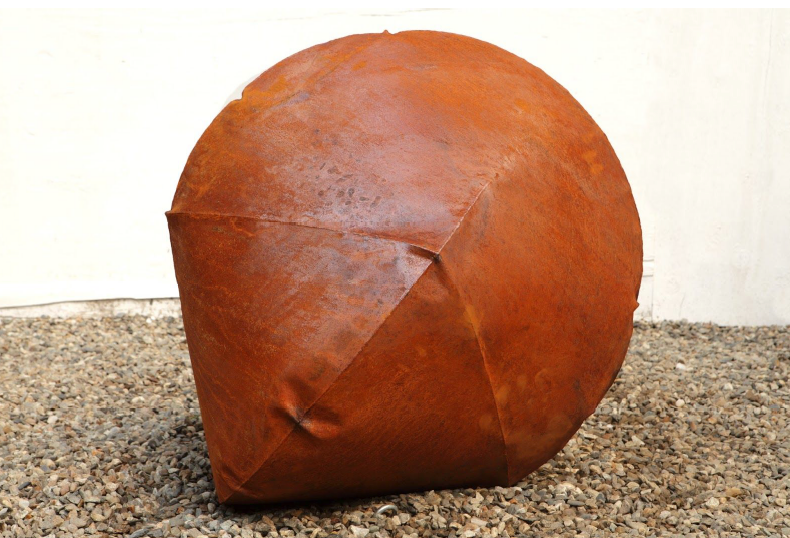 Rodrigo Nava, Visible Force Series, Infinity Form (Small, Rust) at Ellenbogen Gallery