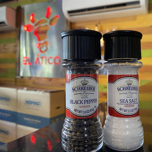 Load image into Gallery viewer, SCHREIBER SEA SALT AND BLACK PEPPER