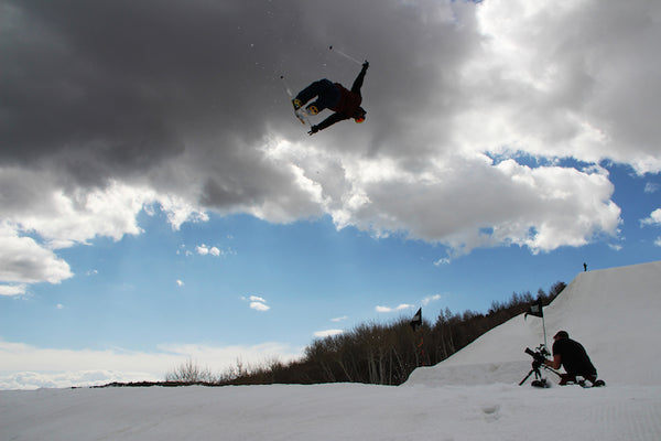 Catching big air in the greatest snow on earth around Salt Lake City, Utah and Park City, Utah. We're eating up the powder while we can, because it will be gone until next ski season.