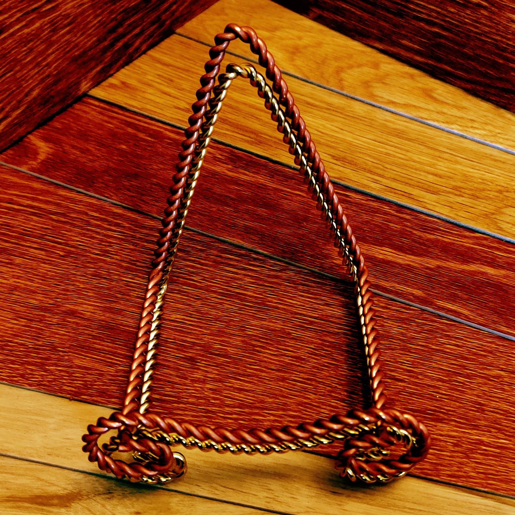 Brass Braided Rope Soap Stand