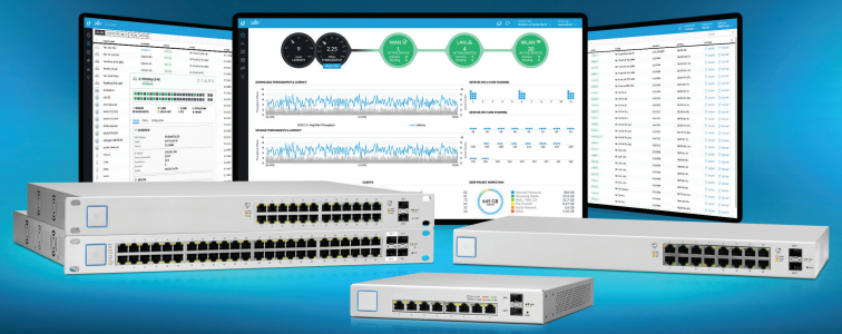 Load image into Gallery viewer, Ubiquiti UniFi 24-port Managed PoE+ Gigabit Switch with SFP 250W