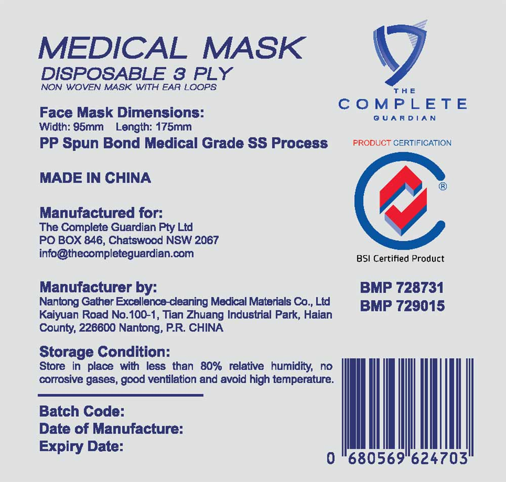 Load image into Gallery viewer, Medical Masks - AS Level 3 & ASTM Level 3 with LOOPS
