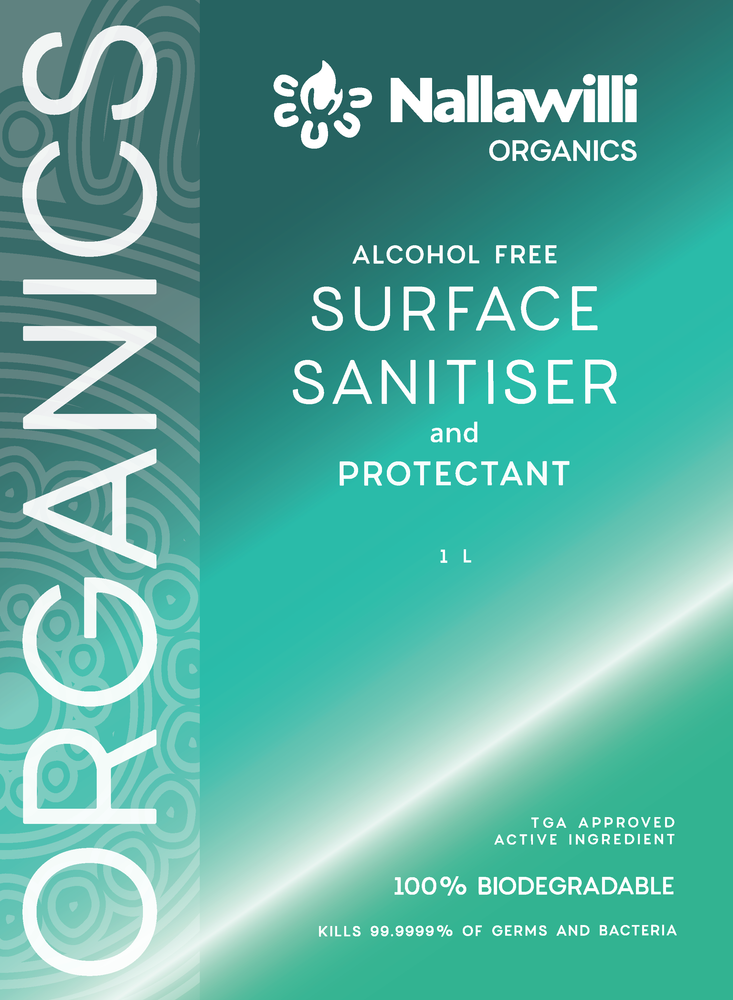 Load image into Gallery viewer, Nallawilli Organics Surface Sanitiser - 1L