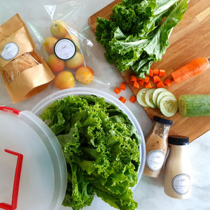 Isabel's DIY Salad Kit