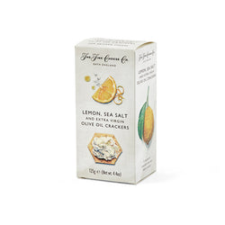 Fine Cheese - Lemon, Sea Salt & Extra Virgin Olive Oil Crackers
