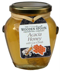 The Wooden Spoon - Acacia Honey with Cut Comb