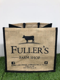 Fuller's Jute Shopping Bag