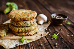 Luxury Veggie Burgers x 4 - Frozen