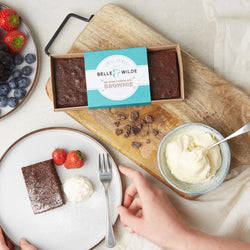 Belle & Wilde Belgian Chocolate Brownies - Gluten Free
