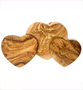 Olive Wood Heart Shaped Boards
