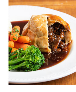 Posh Pies - Steak, Ale and Horseradish - Frozen